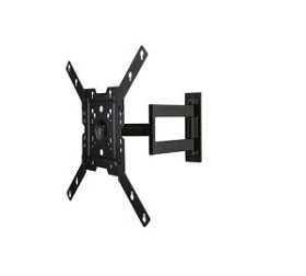 Peerless SAL746 Articulating TV Wall Mount Arm for 22 - 50 Inch TV's - Black