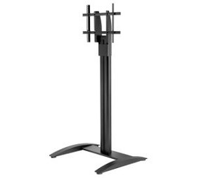 Peerless SS560F Flat Panel Floor Stand for up to 65 TV's - Black