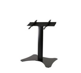 Peerless SS560FK Flat Panel Floor Stand for 32 - 75 Inch TV's - Black