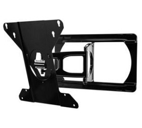 Peerless SUA751H Ultra-Slim Articulating TV Wall Mount for 37 - 60 Inch TV's - Black