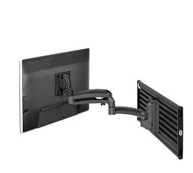 Chief K1S120B Slat Mount for 10-30 Inch Monitors - Black