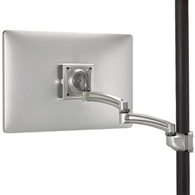Chief K2P120S Kontour K2P Pole Mount Articulating Arm Single Monitor - Silver