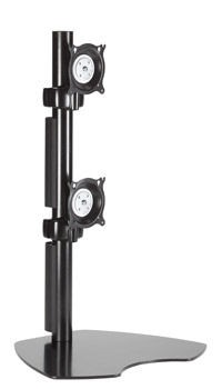 Chief KTP230B Free Standing Pole Mount Array - Black