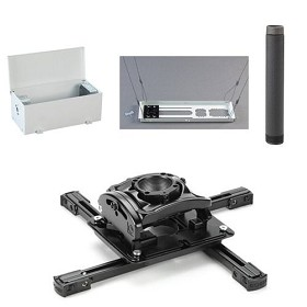 Chief KITES003P Projector Ceiling Mount Kit Includes RPMU, CMS003 3 Inch Extension CMA470 Suspended Ceiling Kit