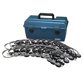 Hamilton Electronics LCP/30/HA2 Lab Pack, 30 HA2 Personal Headphones in a Carry Case