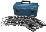 Hamilton Electronics LCP/24/MS2L Lab Pack, 24 MS2L Personal Headphones in a Carry Case