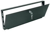 Raxxess LSC-8 Locking Security Cover 8U, Steel