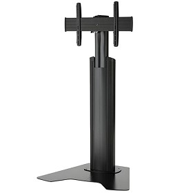 Chief MFAUB Medium Fusion Manual Height Adjustable Floor AV Stand - Black