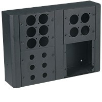 Raxxess MWB-2 Wall Box/Holds 2 Panels
