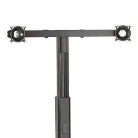 Chief KFA225B Widescreen Dual Monitor Cart/Stand Accessory Black