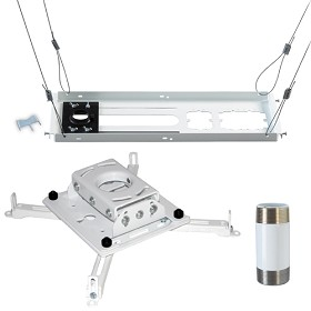 Chief KITPS006W Suspended Ceiling Projector Mounting Kit