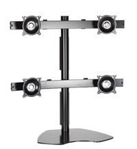 Chief KTP440B Free Standing Pole Mount Array - Black