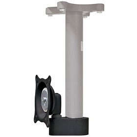 Chief FHS110B Flat Panel Single Ceiling Mount (13 inch-23 inch Displays) Black