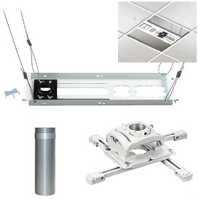 Chief KITES006W Suspended Ceiling Projector Mounting Kit