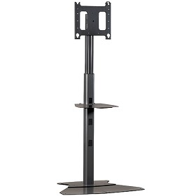 Chief PF1UB Height Adjustable Fixed TV Stand  - Black