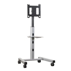 Chief MFCUS Height Adjustable Mobile TV Stand - Silver
