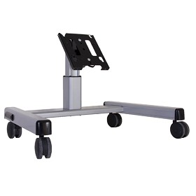 Chief MFQUB Adjustable Height Confidence TV Stand - Black