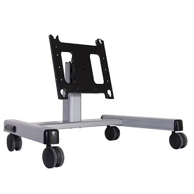 Chief PFQUS Mobile Height Adjustable Confidence TV Stand - Silver