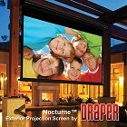 "Draper 138041 Nocturne E: 87 x 116 Video Format 150"" Diag. Matt White XT1000E"