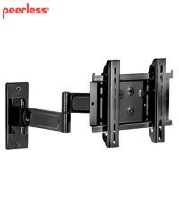 Peerless PA735F Universal Articulating Wall Arm for 10 to 26 inch Flat Panel Screens - Silver