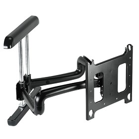 Chief PDR2130B Large Flat Panel Swing Arm Wall Mount – 37 Inch Extension – Black