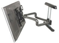 Chief PDR2225B Large Flat Panel Swing Arm Wall Mount – 37 Inch Extension – Black