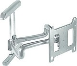 Chief PDRUS Universal Flat Panel Dual Swing Arm Wall Mount (42-71 inch Displays) - Silver