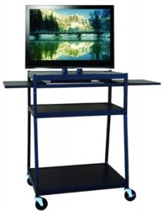 Buhl PLC3244E Wide Body Flat Panel TV Cart for up to 42 inch Flat Panel