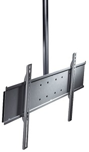 Peerless PLCM-UNL Universal TV Ceiling Mount for 32 - 75 Inch TV's - Black (ceiling plate sold separately)