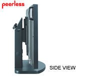 Peerless PLT-BLK Large Flat Panel Tabletop Stand with Black Base. PLP model screen adapter plates sold separately
