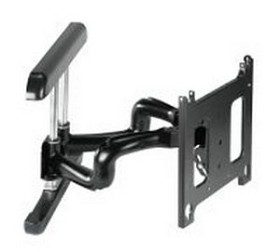 Chief PNR2068B Large Flat Panel Swing Arm Wall Mount – 25 Inch Extension – Black