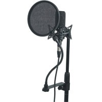 Raxxess POMT 6 Inch Pop Filter W/ Goose Neck & Clamp