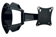 Peerless SA730P SmartMount Universal Articulating TV Wall Mount for 10-29 Inch TV's - Black