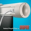 Draper 136085 Salara Plug and Play: 31 3/4 x 56 1/2 HDTV Format 65