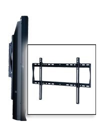 Peerless SF650 SmartMount Universal Fixed TV Mount for 37-75 Inch TV's with Security Fasteners - Black