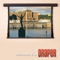 Draper 107143QL Silhouette Series V 6 Foot Diagonal Video FormClearSound White Weave XT900E Surface XH600V Surface with Quiet Motor & Low Voltage Controller