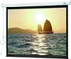 Da-Lite 76755 Slimline 72 Inch Diagonal 43x57 Video Format Matte White Surface