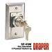 Draper 121022 SP-KSM 3 Position Key Control Switch Momentary Contact