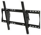 Peerless ST660 Security SmartMount Universal Tilt TV Mount for 39 - 80 Inch TV's with Security Fasteners - Black