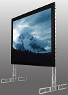 StageScreen (silver), 626 Inch Diagonal, MultiFormat, Matt White XT1000V Surface