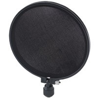 Raxxess STOP-6 Microphone Screen; 6 Inch
