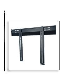 Peerless SUF650P Ultra-Slim Universal FIxed Flat Wall Mount For 37 - 75 Inch TV's Ultra-Thin TV's - Black