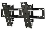 Peerless SUT660P Ultra-Slim Universal Tilt Mount for 37 in. to 55 in. Ultra-Thin Screens Weighing Up to 100 lb (45kg)