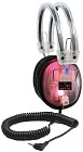 Hamilton CL-LED LED Light-Up Clear Housing Deluxe Headphone with 3.5mm Plug and 1/4