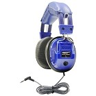 Hamilton Electronics Kids-SC7V Kids Blue, Deluxe Stere/Mono Headphone with 1/8