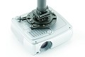 DaLite UPM-2C Universal Projector Mount with Cable Lock - White