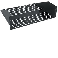 Raxxess UTVS-3-18 3 Space 18 Inch Deep Vented Shelf (Q.D.E.)