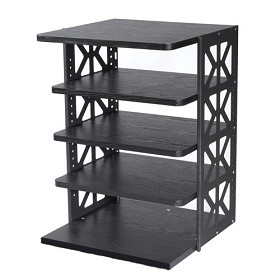 Raxxess WROTR-36B with 4 Movable Shelves and 1 Fixed