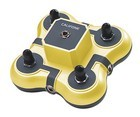 Califone 1114YL Mini Stereo Jackbox - yellow