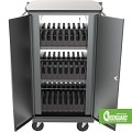 Mooreco 27705-2 iTeach High Capacity Sync & Charge Cart - 16 capacity